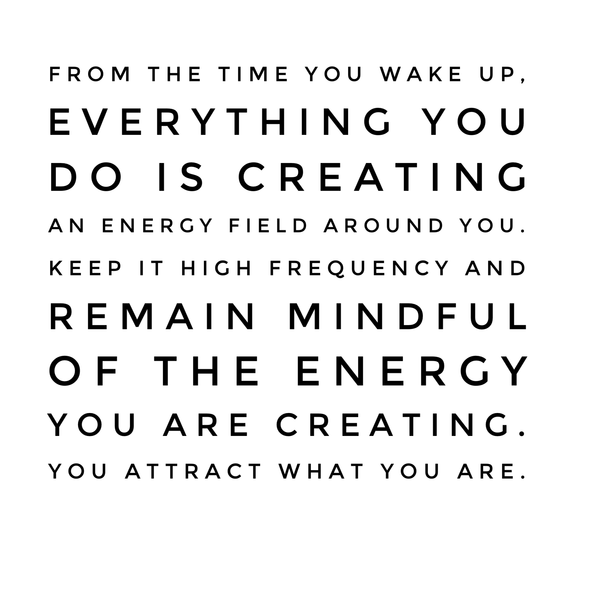 Energy is Contagious