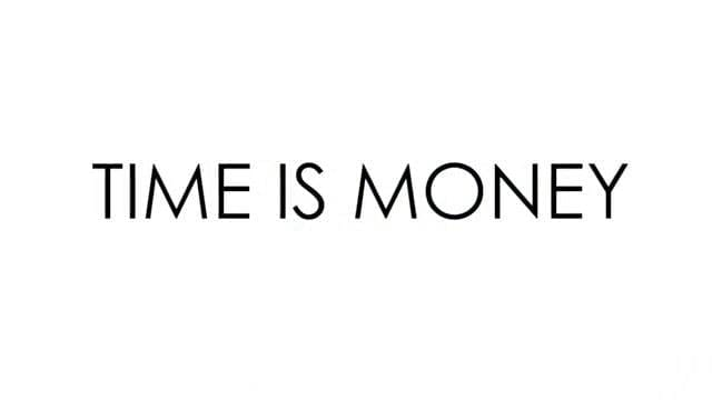 Monday Motivation | Time is Money
