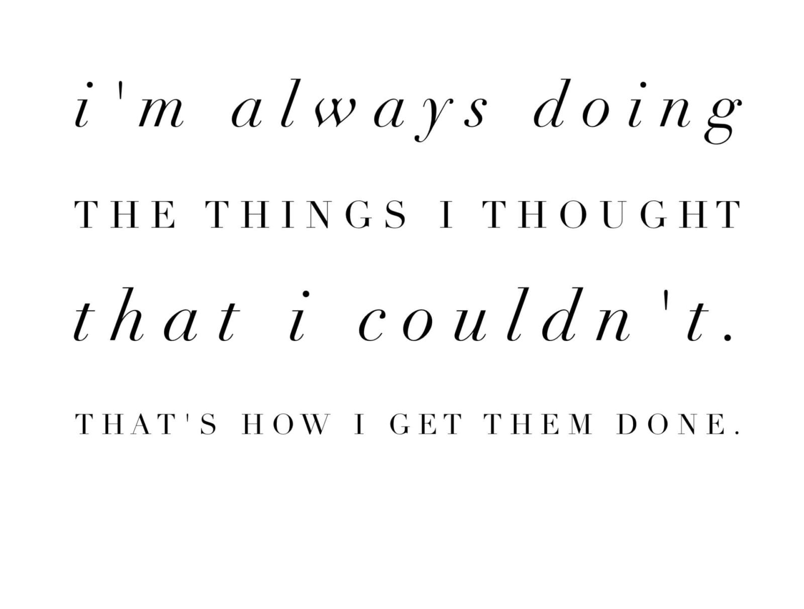 Monday Motivation | Do Away with Self Doubt